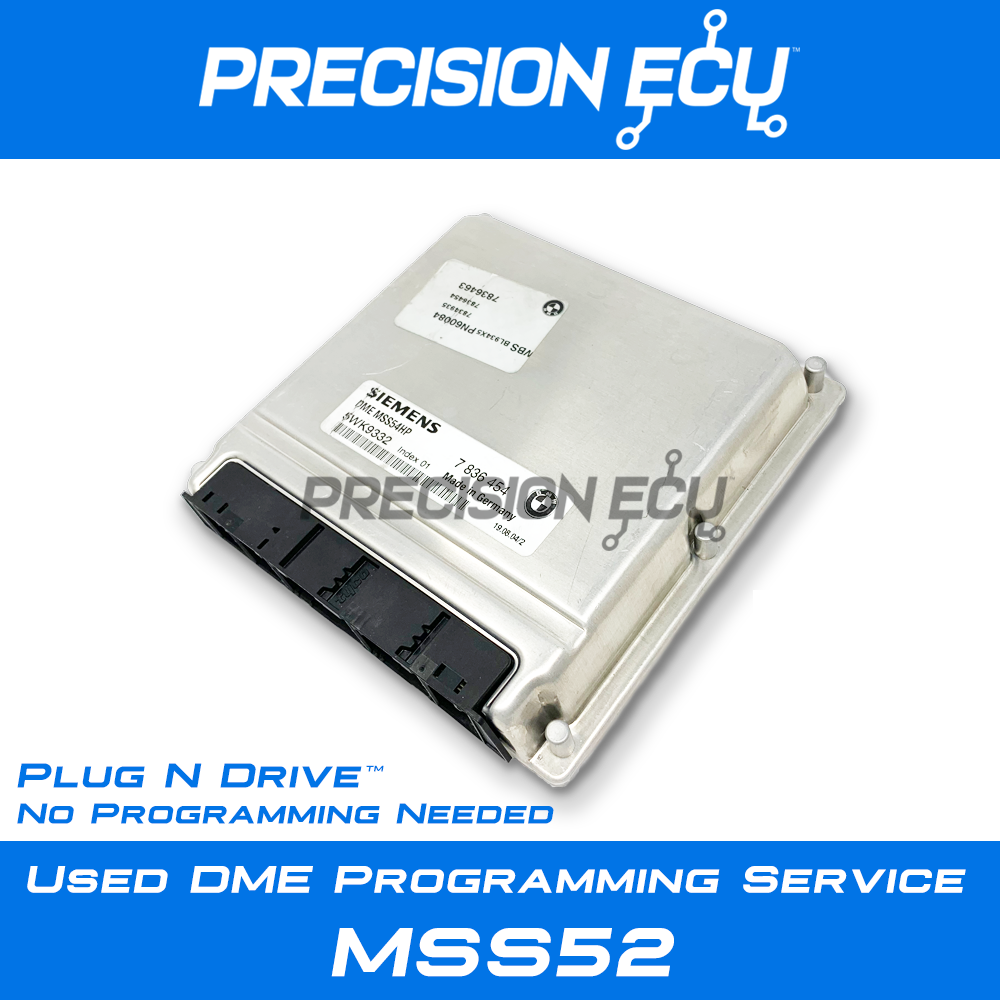 bmw dme computer repair mss52 m5 z8 7835620