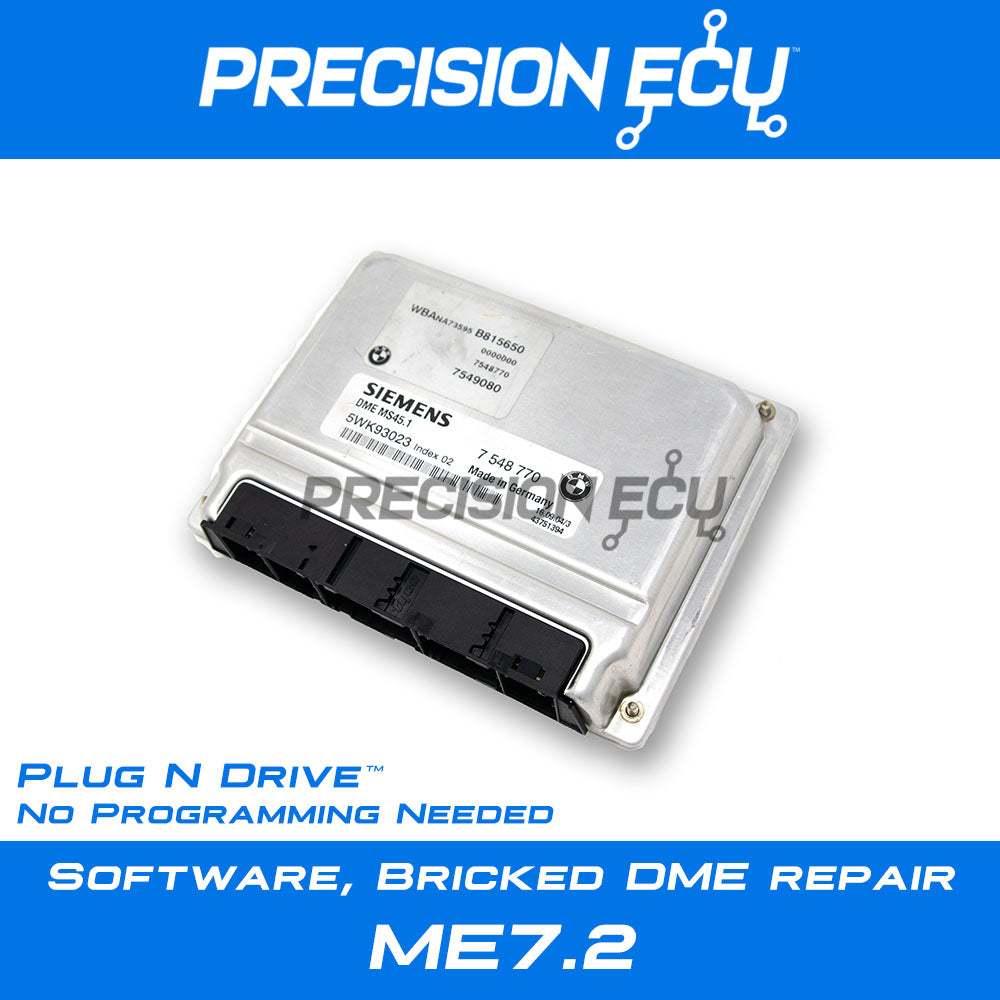bmw dme computer ecm ecu repair me7.2 m62