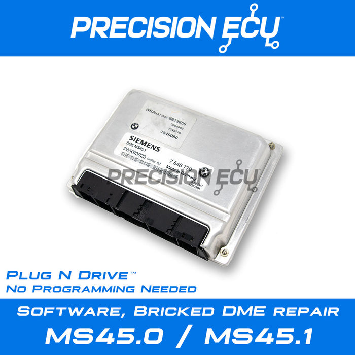bmw-dme-ecm-bricked-computer-ms45-programing-updating