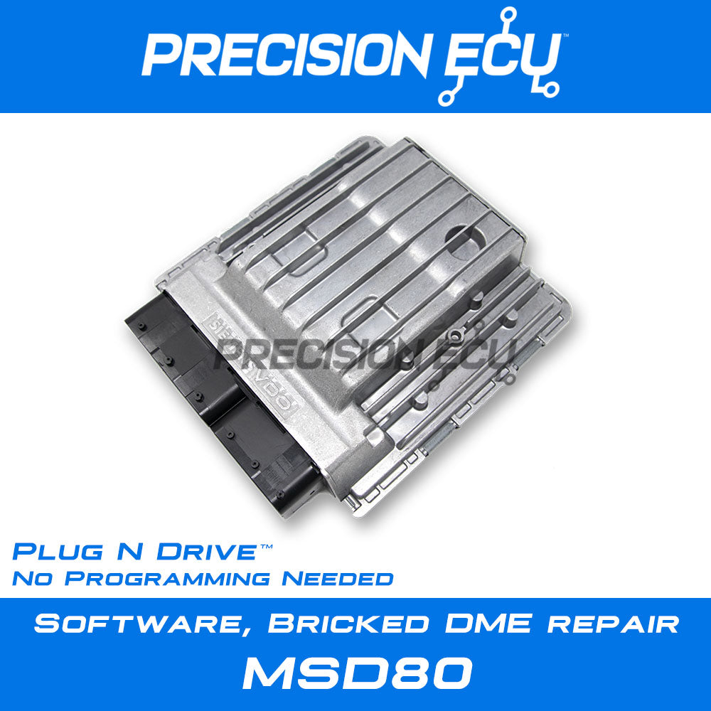 bmw dme repair msd80 injector driver misfire mosfet
