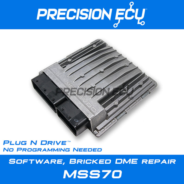 2006–2008 BMW Z4 M Coupe Roadster (E85 E86) / MSS70 / S54 / Corrupt  Software, Bricked DME Repair Service / Plug n' Drive