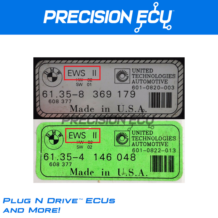 bmw dme repair ews2 ews3.2 program isn adjust