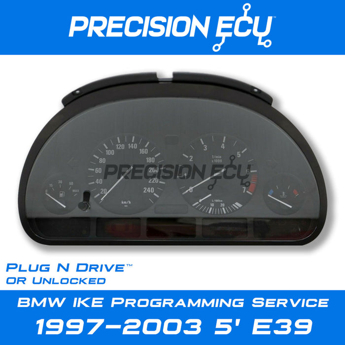 bmw e39 instrument cluster repair programming mileage tamper