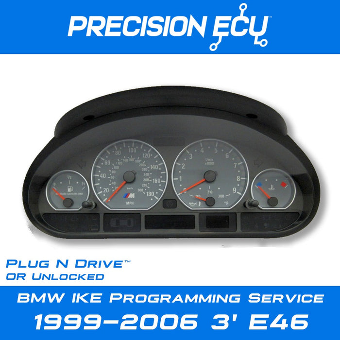 bmw e46 instrument cluster repair programming mileage tamper