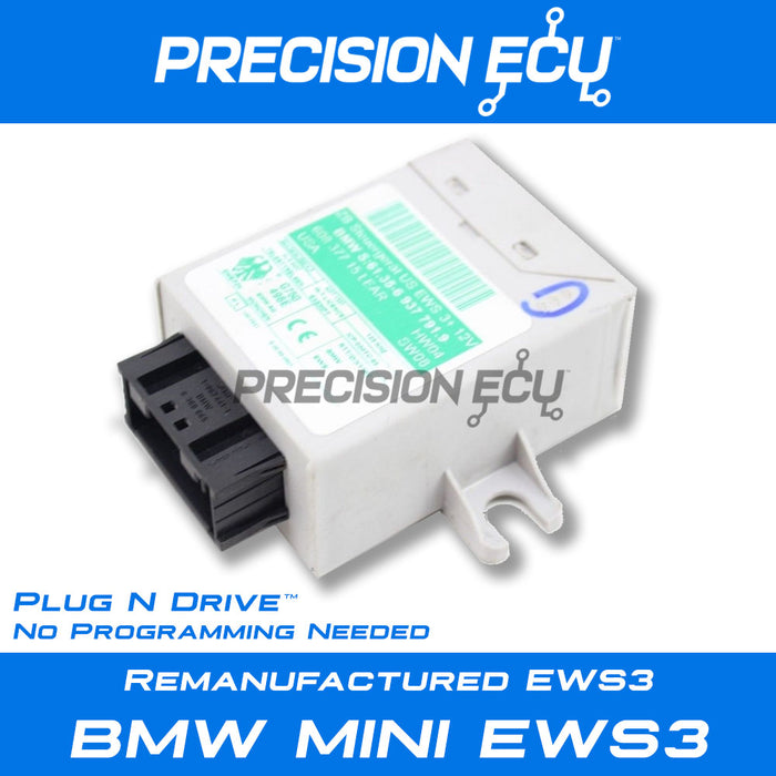 bmw mini ews program no start repair ews3