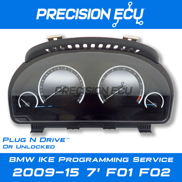 f01 f02 vin instrument cluster mileage repair adjust
