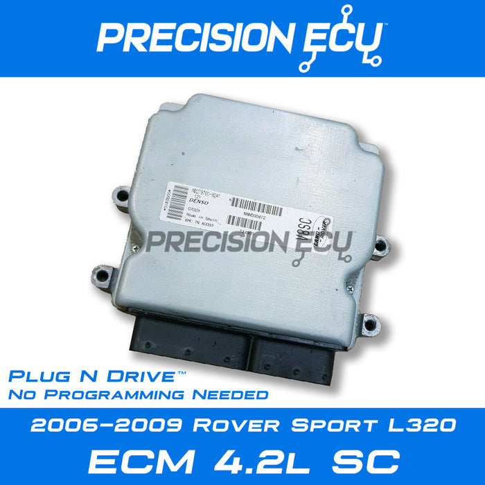 land range rover ecm ecu supercharged nnn500411 nnn500412