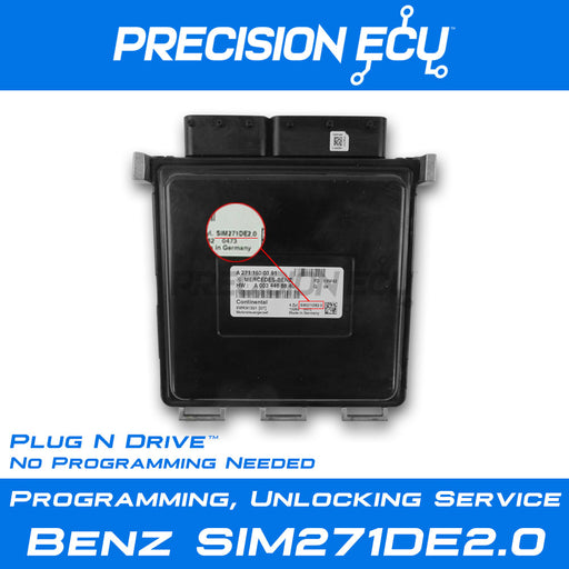 mercedes-ecm-ecu-repair-sim271de20-a2711500391-computer-programming