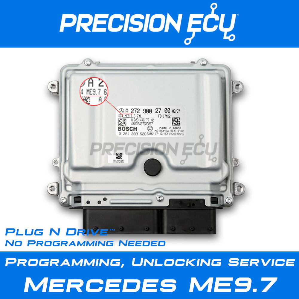mercedes ecm repair me9.7 virgin computer program unlock