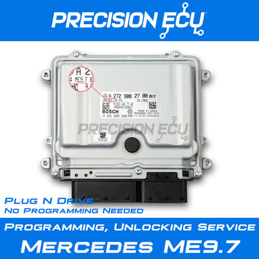 mercedes-ecm-repair-me9.7-virgin-computer-program-unlock