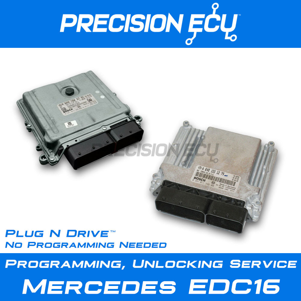 mercedes edc16 ecm ecu computer diesel engine