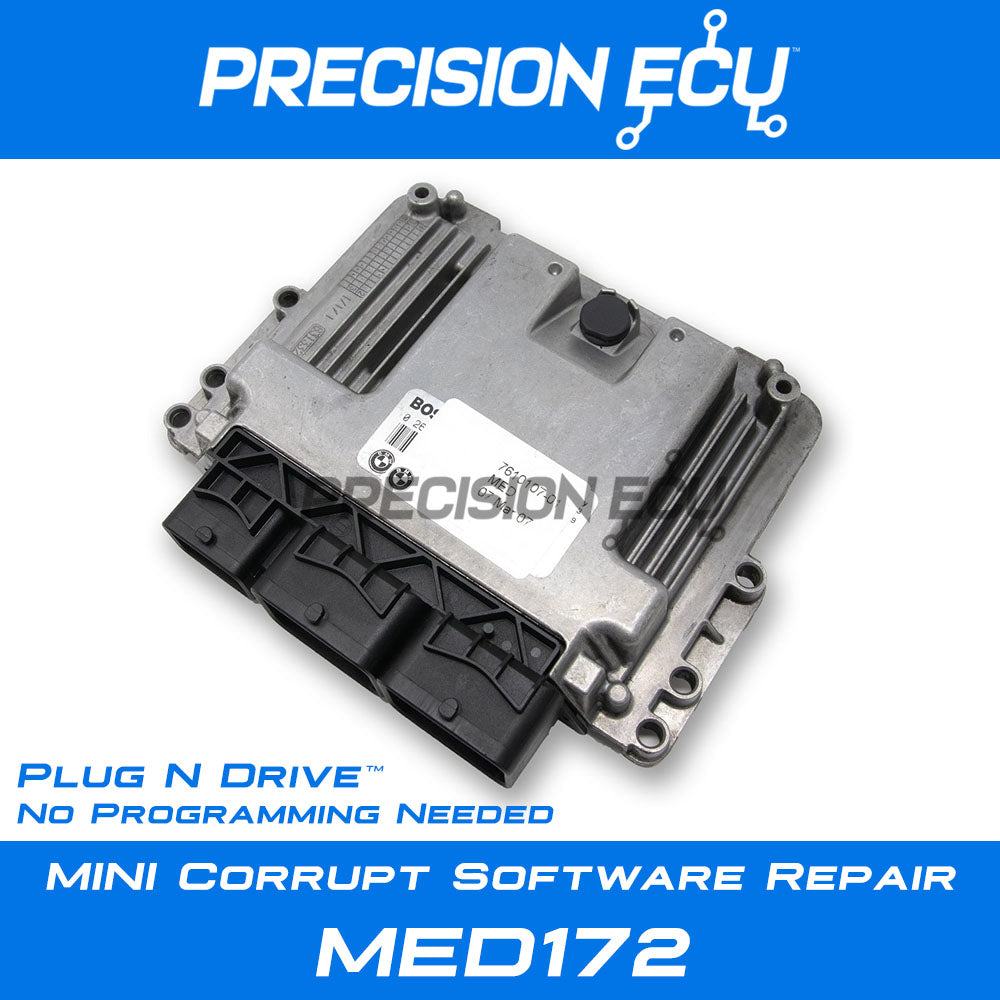 mini dme repair med172 ecm ecu n14 programming