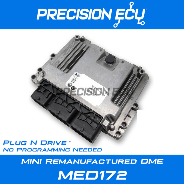 mini dme repair med172 n14 ecm ecu 7601756