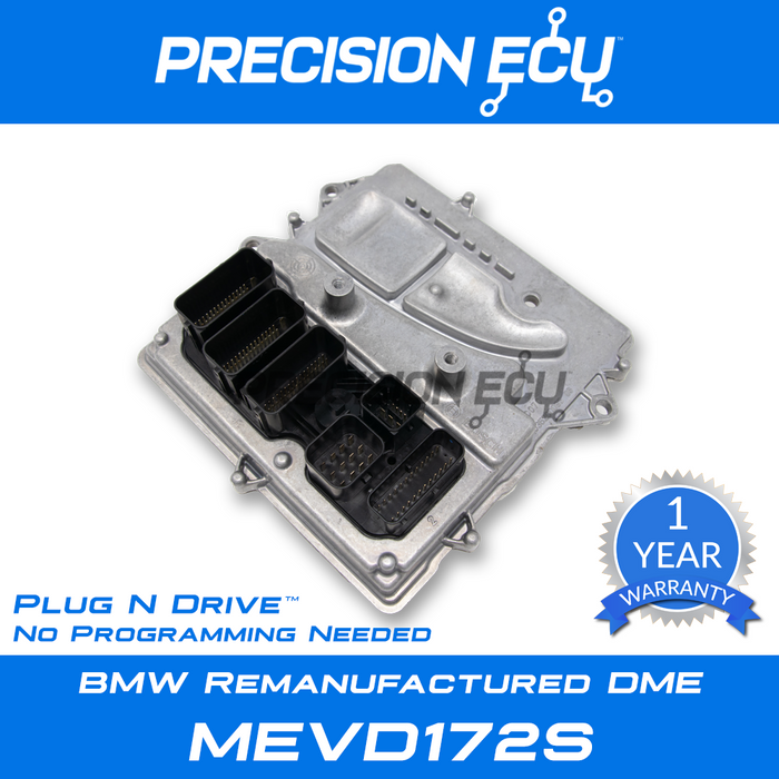 bmw dme repair 335i f30 n55 mevd172s 8631732