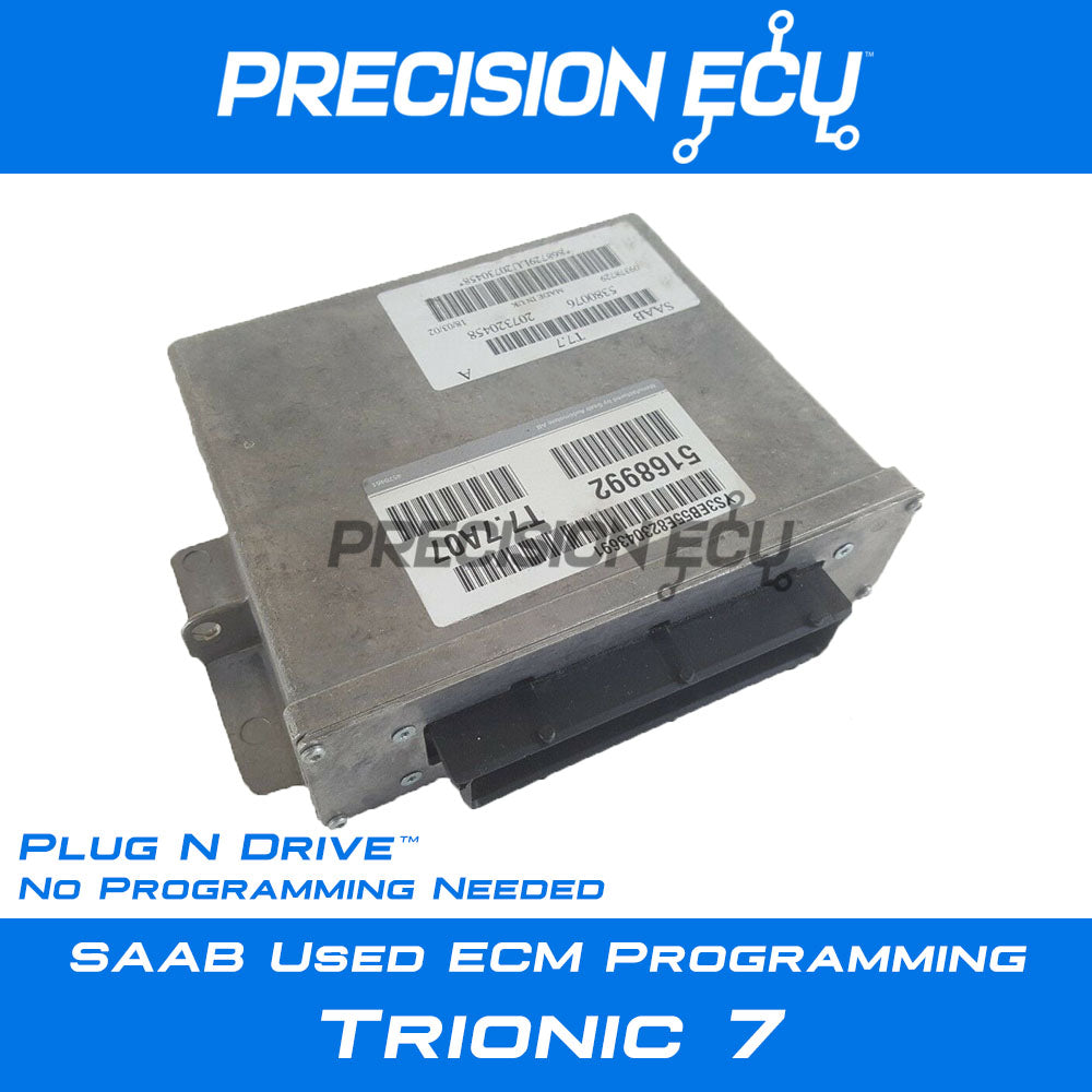 saab 93 95 trionic trionic 7 ecm ecu program