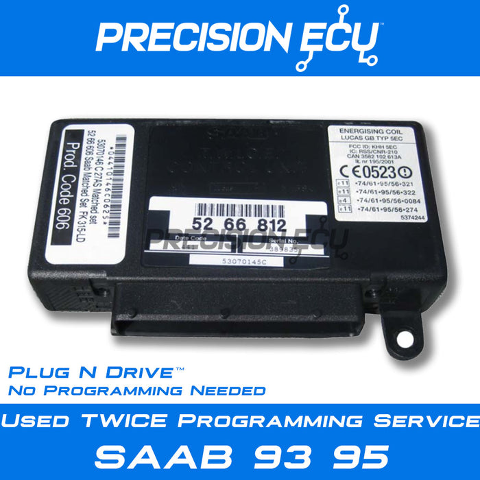 saab twice repair program 95 93 key keys