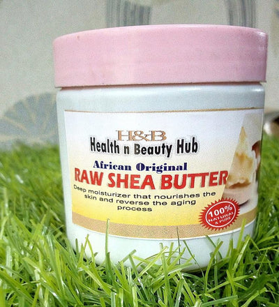 H&B African Raw Shea Butter - Health n Beauty Hub
