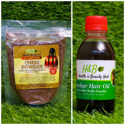 Chebe Powder + Karkar Oil Set