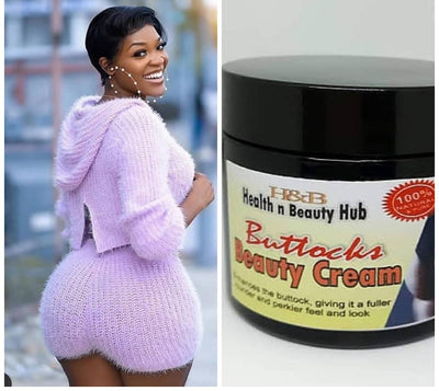 H&B AFRICAN BOOTY CREAM- BOOSTER  PACKAGE
