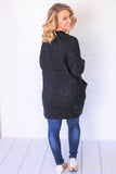 So Soft Black Cardigan