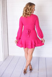 Let's Hear It For The Girls Dress - Fuchsia