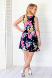 Time To Soar Floral Dress