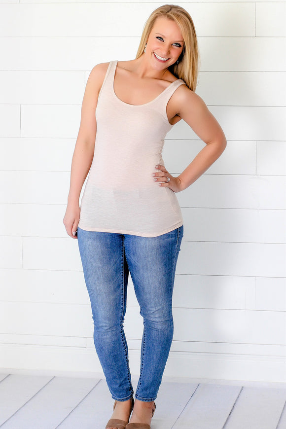 The Basics - Tank in Beige
