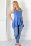 Feel Free Basic Tunic Tank - Blue