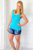 The Basics - Tank in Teal