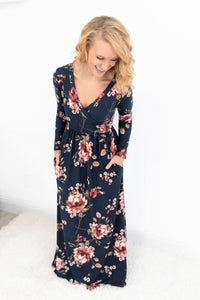 May Your Days Be Floral Maxi Dress