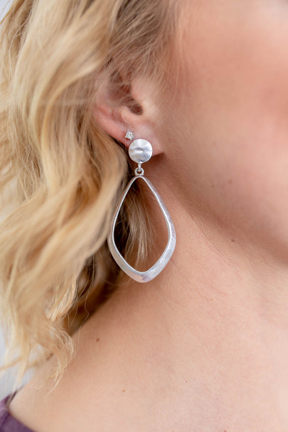 Maddie Hammered Earring