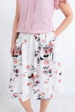 Sweet With You Floral Skirt