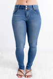 C'est Toi Skinny Jean - Candace Wash