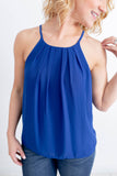 Blue Over You Halter Top