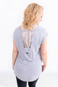 Breathe In Strappy Back Top