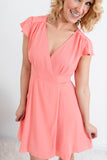 Smile Bright Wrap Dress