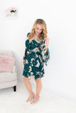Jaded Floral Dress