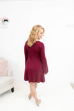 In The Air Tonight Bell Sleeve Dress