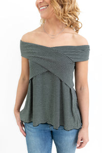 All For Fun Off The Shoulder Top