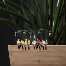 Load image into Gallery viewer, FRIENDSHIP - Funky Fun You-Handmade Statement Earrings