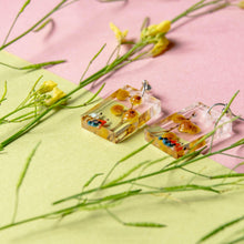 Load image into Gallery viewer, PICNIC - Funky Fun You-Handmade Statement Earrings