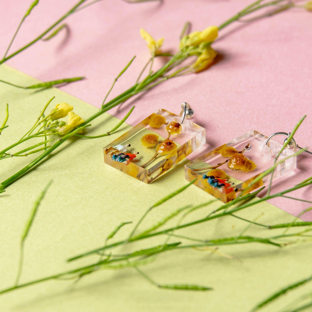 PICNIC - Funky Fun You-Handmade Statement Earrings