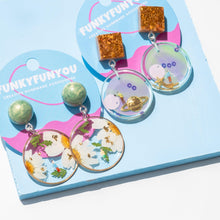 Load image into Gallery viewer, SPACEY - Funky Fun You-Handmade Statement Earrings