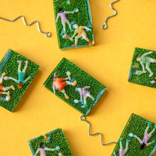 Load image into Gallery viewer, TENNIS-Handmade-Statement-Earrings-Accessories-Funky Fun You