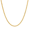2.9MM Rope Chain (DIAMOND CUT)