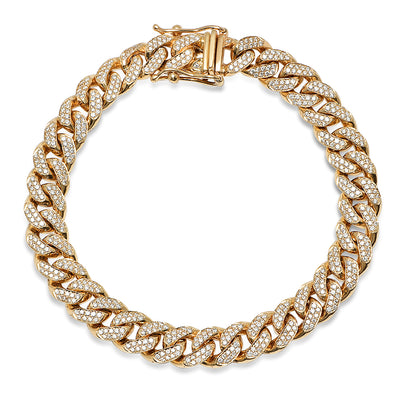 Diamond 8mm miami cuban link