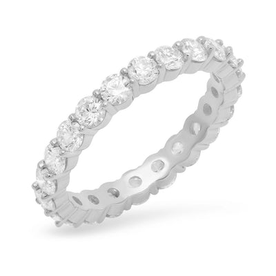 2.5MM Diamond Eternity Ring