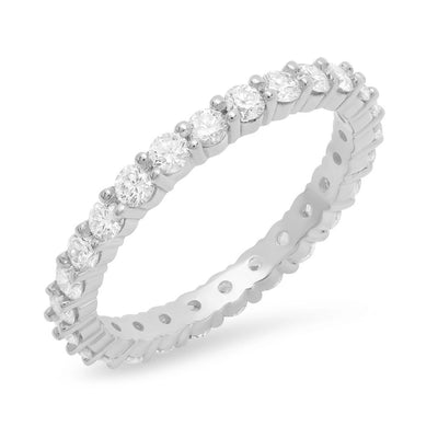 2MM Diamond Eternity Ring