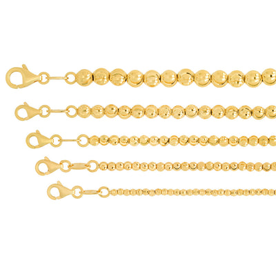 2MM Moon Cut Chain