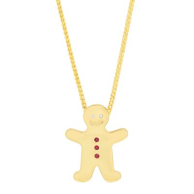 Ginger Bread Pendant